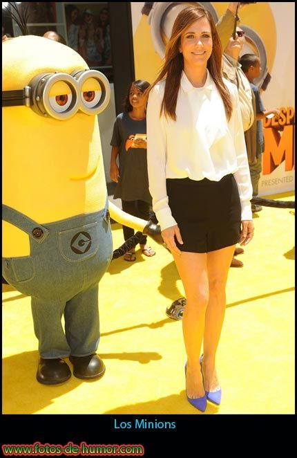 Fotos de humor: Los Minions: Funny Butt, Funny Things, Minions Stuff, Kristen Wiig, Funny Pictures, Funny Stuff, Funny Photos, Funny Minions, Funny Memes