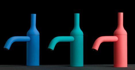 IB Rubinetti - Batlo - bateria umywalkowa, kolorowa,  nowoczesny design.
