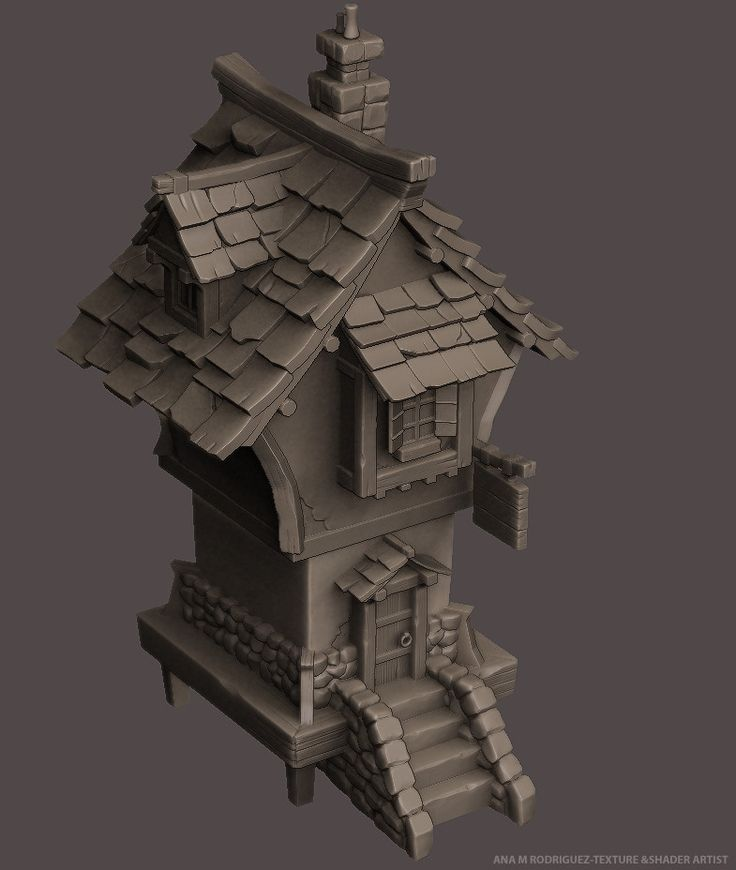 Medieval Brewery based on a Mark Henriksen's concept.., unfinished project just for fun.