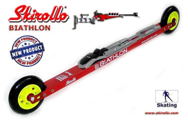 Skirollo BIATHLON: Rollerskis for biathlete