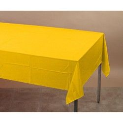 Discount Party Supplies   Yellow Party Decorations, Tablecovers