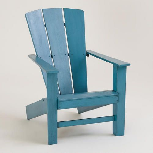 blue coastal adirondack chair they also have burnt orange in this