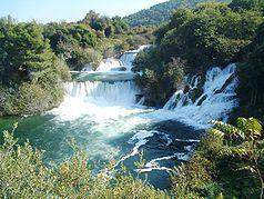 "Krka National Park, Croatia - The waterfall ""Skradinski buk"""