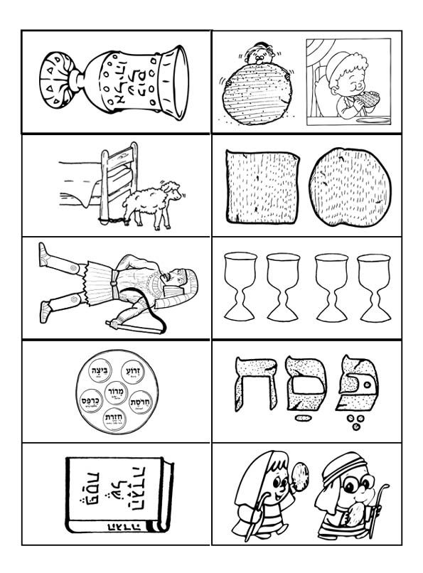 passover plagues coloring pages - photo#5