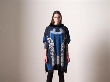 Fehu knitted Poncho - £199 style number 52508 http://thelittleblackdressboutique.co.uk/products/188673--fehu-poncho-52508.aspx