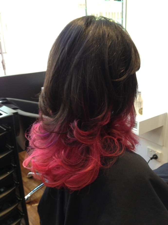 Cool hair by mow hair Gold Coast best hairdressing salon #baliage #ombre originalmineral