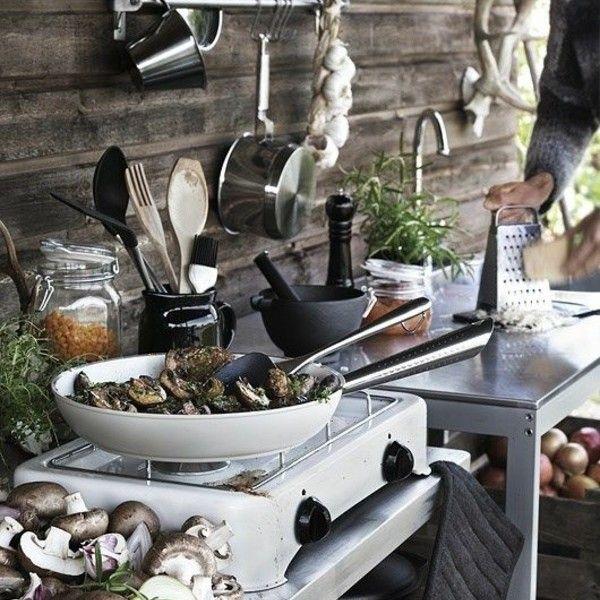 Outdoor Küchenmöbel 4