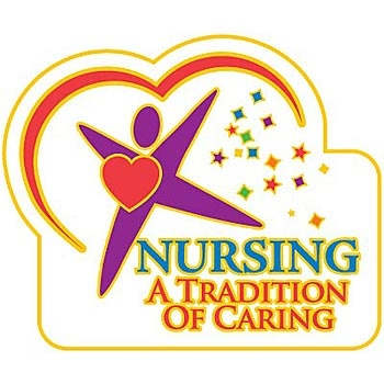 Nursing A Tradition Of Caring Lapel Pin with Presentation Card Item # LP1521L