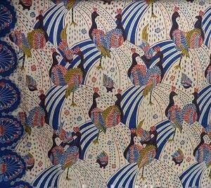 Batik Garut Merak Ngibing