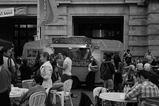 Donuts at the Twilight Hawkers Markets by StuRap, via Flickr