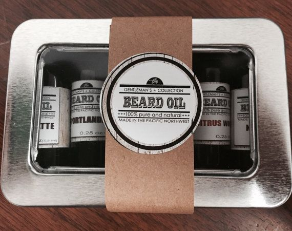 Beard Oil Kit Beard Serum Kit Beard Oil Sample by OurLittleCottage
