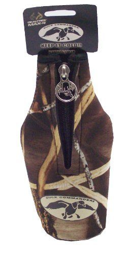 Duck Commander BC-DC-MAX4 Neoprene Bottle Coozie, Max4 Camo -- Learn more by visiting the image link.