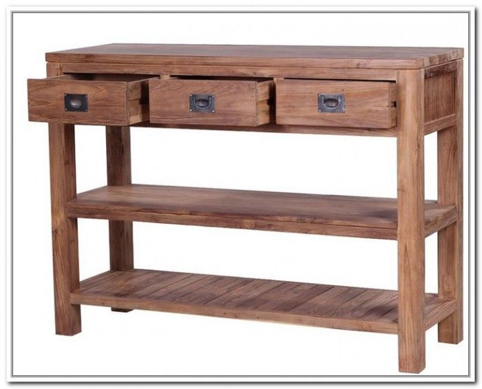 awesome outdoor console table