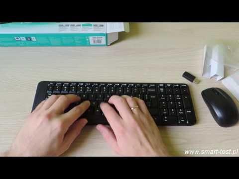 Klawiatura i mysz Logitech mk220 - test /recenzja zestawu