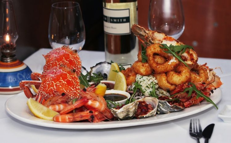 Why not try a seafood platter at La Vida located on Hasting St, Noosa
