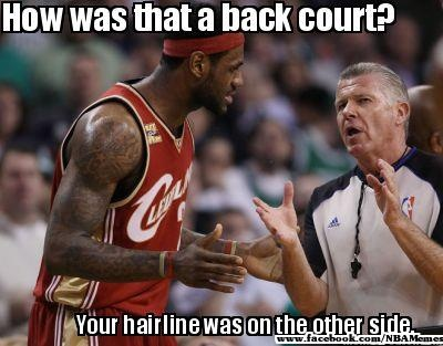 More LeBron hairline