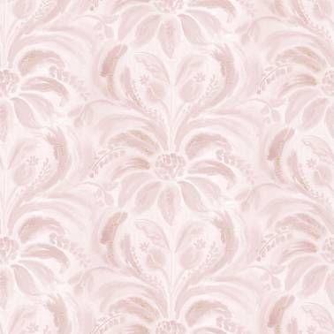 Нежно-розовые обои выполнены в акварельной технике, будут отличным фоном для мебели.