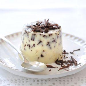 Recept - Straciatella panna cotta - Allerhande
