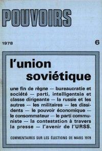 Pouvoirs #6 : L'union soviétique