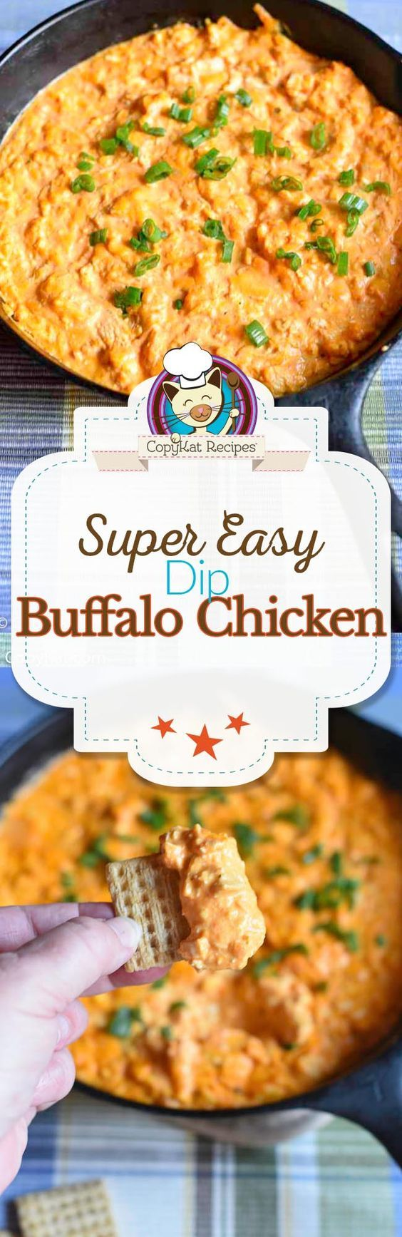 Make delicious buffalo chicken dip for your next game night or party.