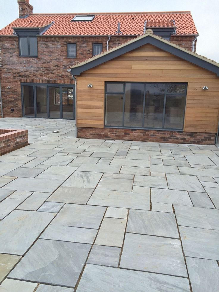 This stone is of premium quality. Kandla grey gives out a very uniform colour variation, ideal for creating outdoor contemporary living spaces. Surface: Natural riven.   eBay!