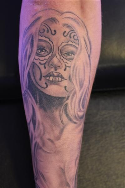 Chicano style tattoo black and grey tattoos pinterest for Chicano tattoos meanings