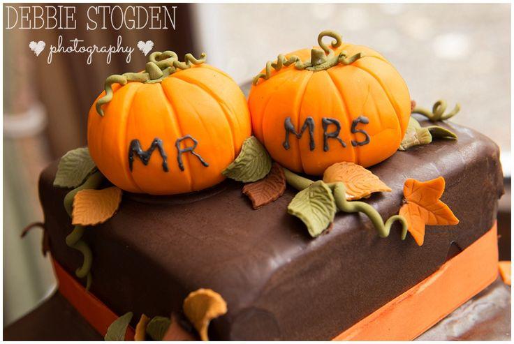 #Halloween #Wedding #Cake in chocolate orange