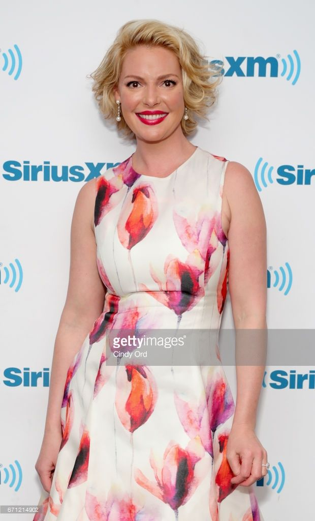 Katherine Heigl is a guest on Jenny McCarthy's 'Inner Circle' Series On Her SiriusXM Show 'The Jenny McCarthy Show'