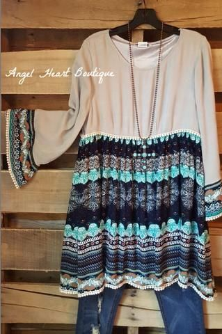 """""""Say what you think, love who you love. Because you get only so many trips around the sun."""" A natural crochet cardigan/duster with fringe and embroidered details. - Hand Wash - Cold Wash - 65% Cotton"""