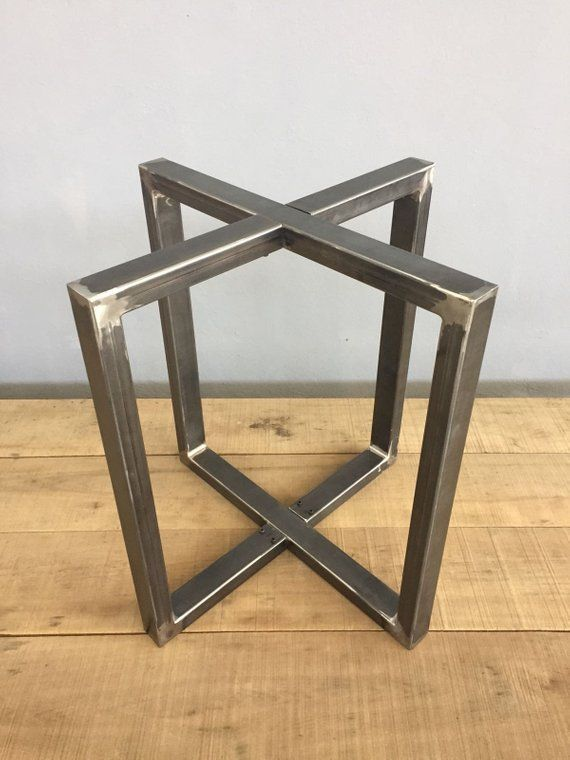 Metal Table Legs 28 Round Metal Dining Table Base Etsy Metal Base Dining Table Dining Table Legs Metal Table Legs