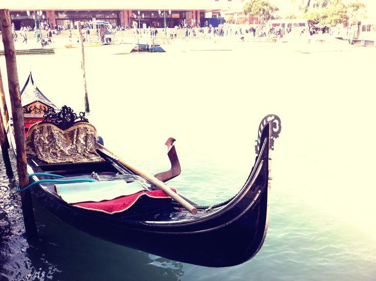 Góndola - Canal Grande - Venecia - Italia