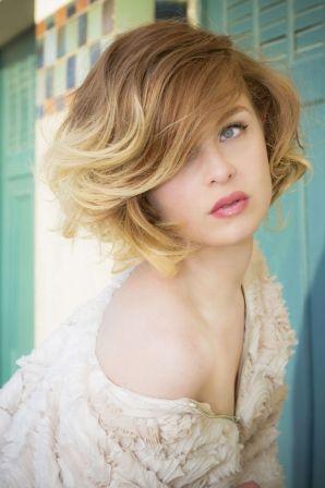Coiffure cheveux courts © Eric Bachelet pour L'Oréal Professionnel: