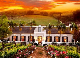 Grand Roche Hotel, Paarl, Cape Winelands, South Africa. BelAfrique your personal travel planner - www.BelAfrique.com