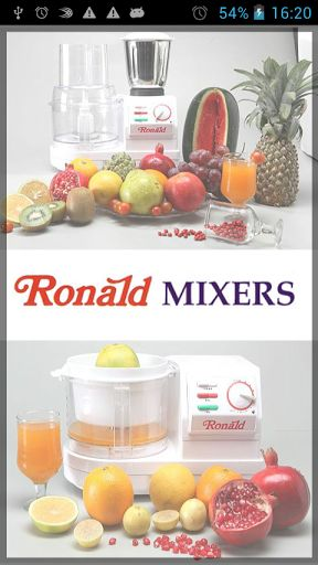 Ronald Mixers - A company devoted to food processors was established in the year 1985 by Mr. Ravindra Ratnakar Phatak an Electrical Engineer.<p>Since then Ronald Food Processor has made in-roads in over 10 lacs Indian Kitchens<p>Our Food processor, Mixer  http://www.juicerblendercenter.com