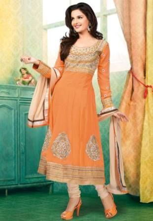 Utsav Fashion Bridal New Churidar Suits 2014 For Women  (3)