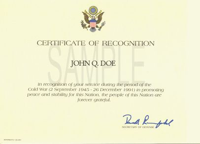 recognition certificate sample Template – Sample of Certificate of Recognition