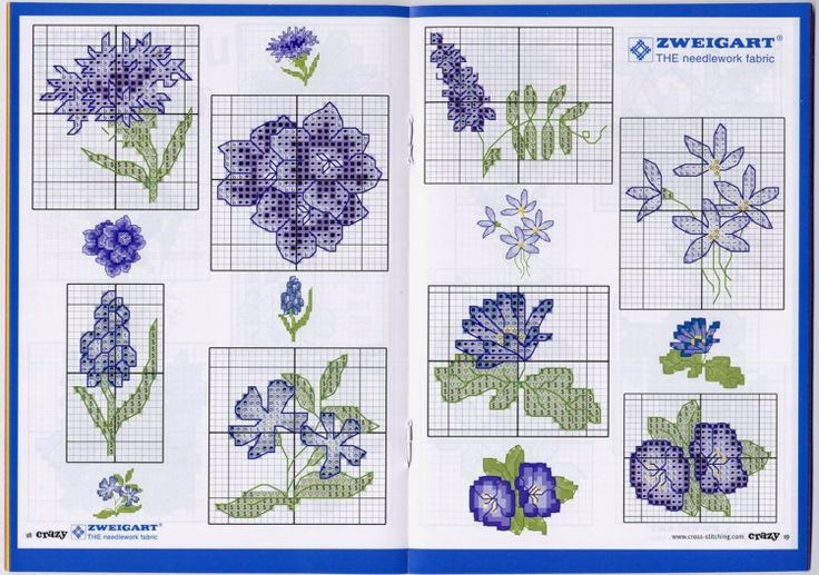 Blue flowers 2 Gallery.ru / Фото #10 - 101 цветок - livadika