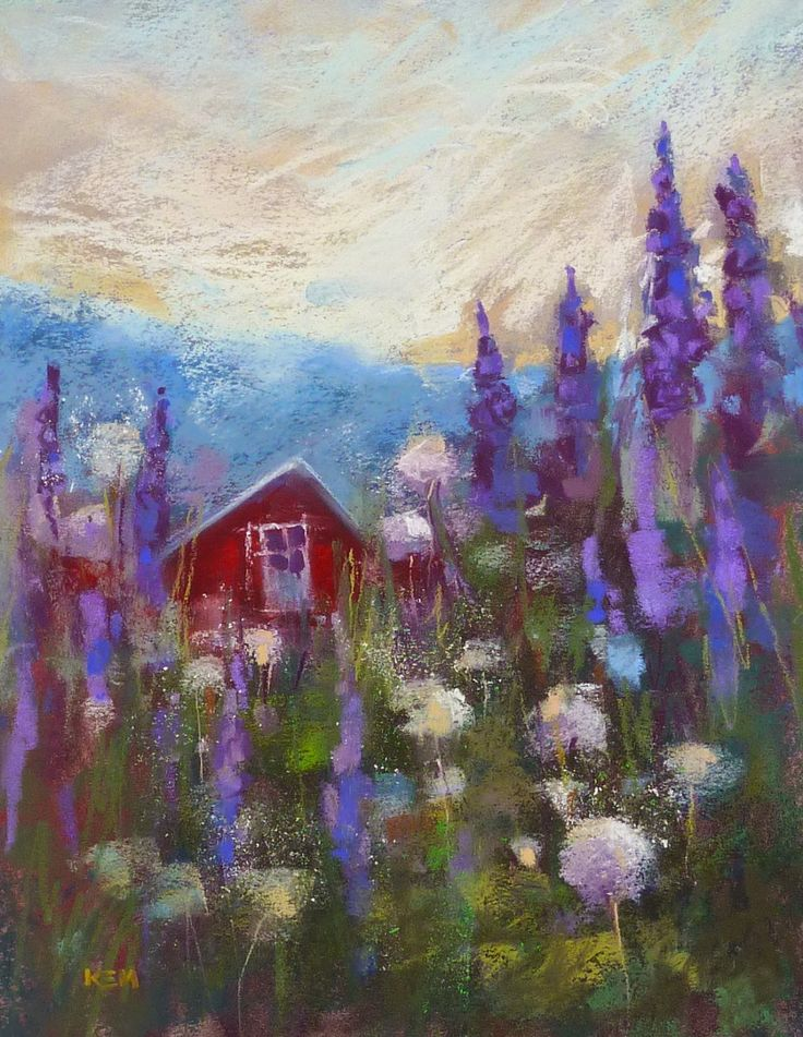 Painting My World: Painting Iceland: Painting After the Trip Made Eas...