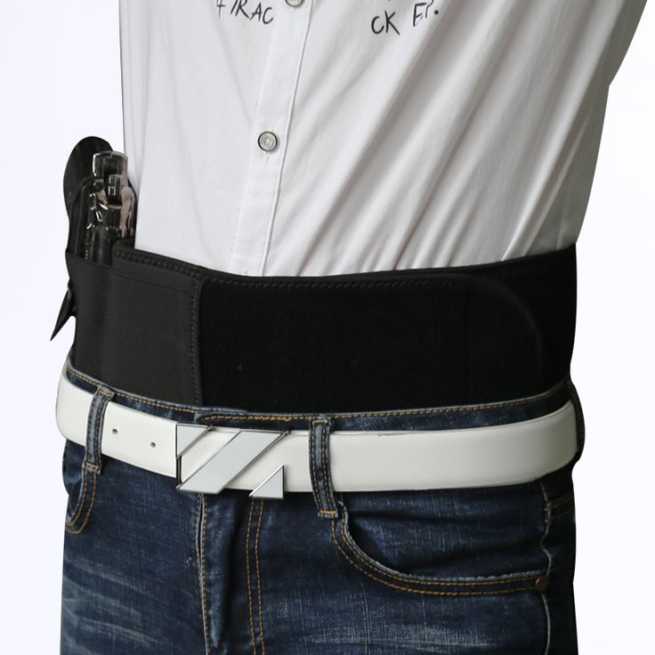 NEW Est Practical Concealed Carry Ultimate Belly  Hand Band Holster Gun Right&Left Pistols Holsters Fits All Pistol P2