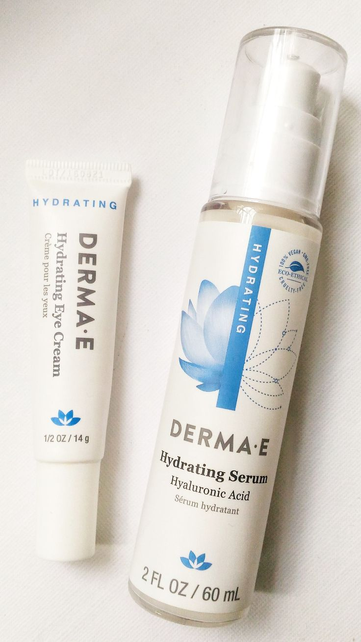 Review: Derma E Hydrating Serum and Eye Cream