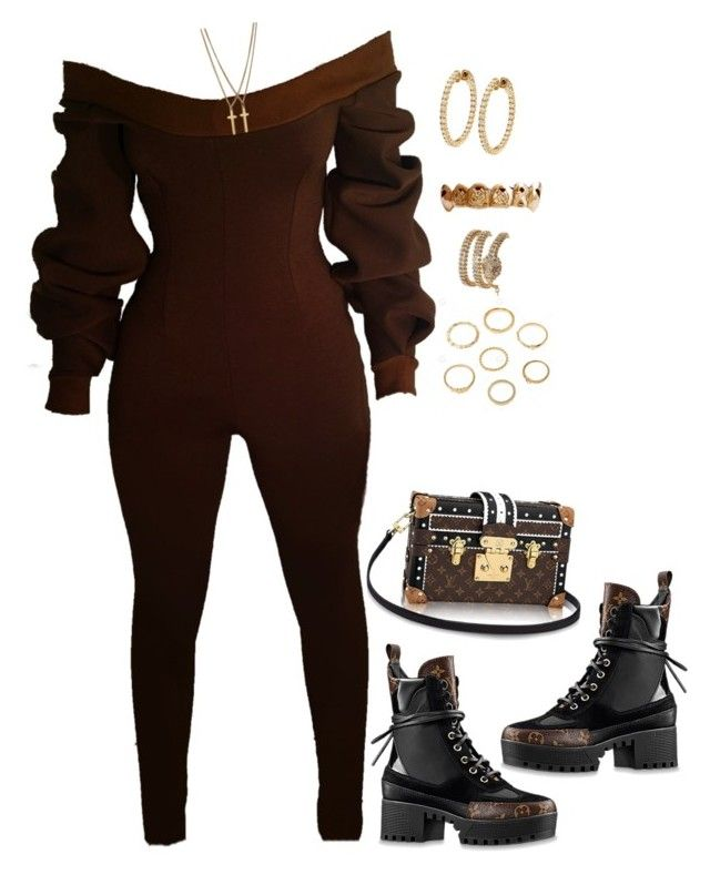 """""""Untitled #4404"""" by mollface ❤ liked on Polyvore featuring Louis Vuitton, Dsquared2 and Vittorio Ceccoli"""