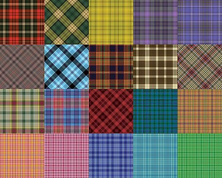 Free Plaid Patterns for Photoshop by Shelby Kate Schmitz: Plaid Patterns Set 1