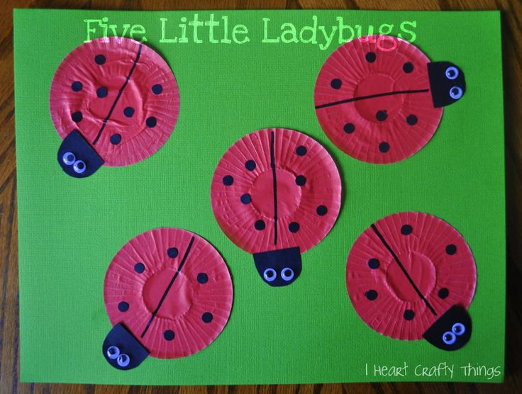 Cupcake Liner Ladybugs! - - pinned by @PediaStaff – Please Visit  ht.ly/63sNt for all our pediatric therapy pins