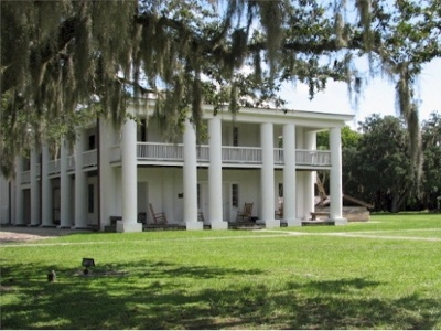 The Gamble Plantation is the only surviving plantation home in South Florida. The antebellum mansion was once the headquarters of an extensive sugar plantation. Located in Ellenton, FL.