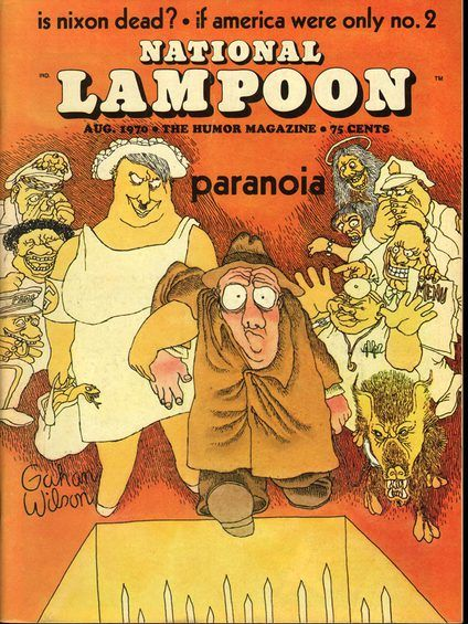 National Lampoon August, 1970 National Lampoon was a ground-breaking American humor magazine.