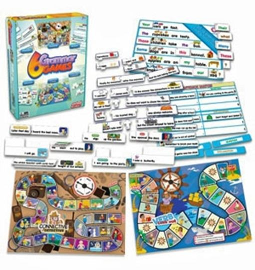 Picture of 6 Grammar Games