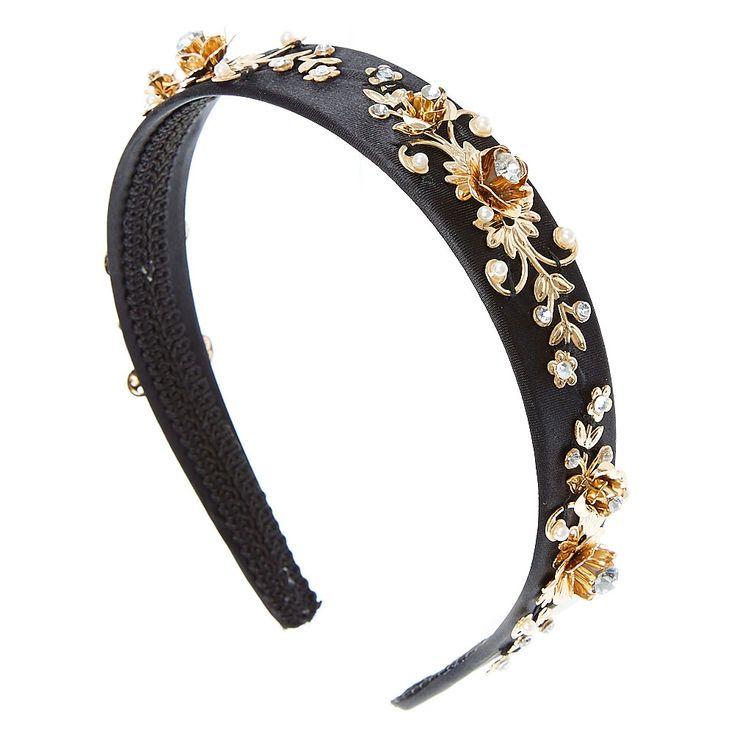 £4, Faux Pearl  and Crystal Headband