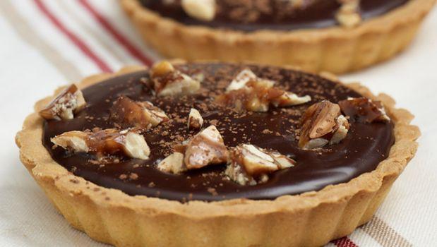 Πανεύκολα ταρτάκια σοκολάτας, από το sintayes.gr!