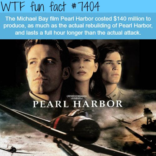 historical accuracy of michael bays pearl 9) pearl harbor  michael bay's bombastic war film may not be big on historical  accuracy or criticism of the usa, but it  the truth probably lies somewhere in  between, but it's included here because you just can't have a list of.