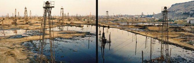 SOCAR Oil Fields #1a & #1b (diptych)